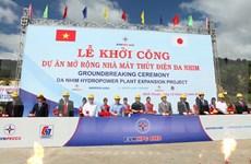 Inician proyecto de ampliación de hidroeléctrica Da Nhim en Ninh Thuan
