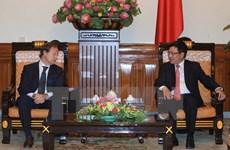 Vicepremier vietnamita pide apoyo de UE a empresas