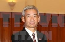 Condecorado embajador tailandés con distinción vietnamita