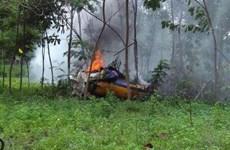 Dos pilotos mueren en accidente de avión militar en Indonesia