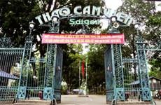 Jardín botánico y zoológico de Saigón de 150 años
