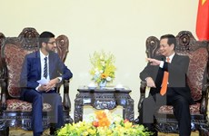 Premier vietnamita recibe a director ejecutivo general de Google
