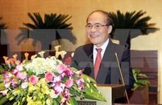 Líder parlamentario vietnamita parte en viaje oficial a China