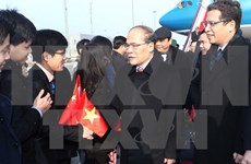 Presidente del Parlamento vietnamita inicia visita a China