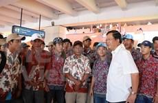 Regresan a casa pescadores vietnamitas retenidos en Indonesia
