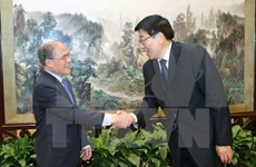 Presidente parlamentario vietnamita visita provincia de Hunan