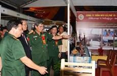 Cierran feria comercial Vietnam – Laos 2015