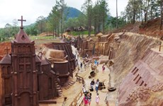 Túnel de arcilla, atracción turística en Da Lat