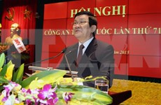 Sector de Seguridad Pública de Vietnam traza tareas para el 2016