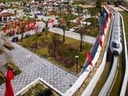 Inauguran el primer sistema de monorraíl elevado en Vietnam