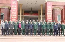 Líder partidista visita Comandancia Militar de Hanoi