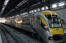 Singapur y Malasia promueven proyecto sobre tren de alta velocidad