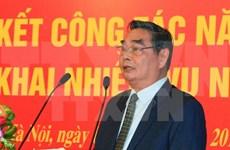 Continúan actividades en preparación del XII Congreso partidista vietnamita