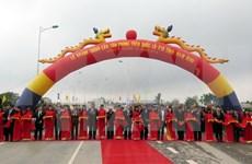 Entra en funcionamiento puente Tan Phong en provincia norteña de Nam Dinh