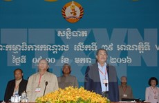 Cierran reunión 39 de Partido Popular de Cambodia