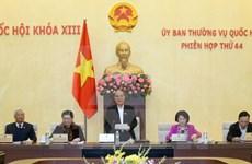 Inaugura Comité Permanente de Parlamento cuadragésima cuarta reunión