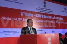 Países de subregión de Mekong y la India desarrollan cadenas de valores
