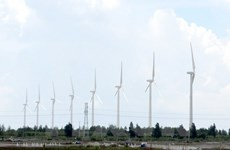 Inauguran nueva planta eólica en la provincia vietnamita de Bac Lieu