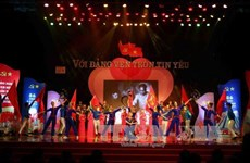 Programa artístico saluda próximo Congreso nacional del PCV