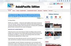 Destaca prensa internacional significados del Congreso partidista de Vietnam