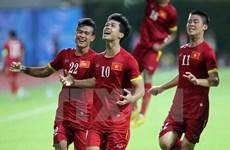 Vietnam y Malasia juegan partido amistoso de futbol sala
