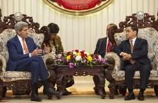 Estados Unidos y Laos fomentan relaciones bilaterales