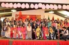 Vietnamitas y mexicanos juntos celebran el Tet con mariachi y canto folclórico