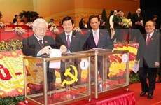 Estructura del Comité Central del Partido Comunista de Vietnam del XII mandato