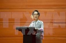 Líder opositora de Myanmar llama a la cooperación por interés nacional