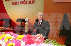 Felicitan dirigentes extranjeros a secretario general de PCV