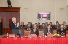 Máximo dirigente de PCV destaca éxitos de XII Congreso Nacional