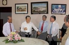 Presidente vietnamita visita Vinh Long en ocasión del Tet