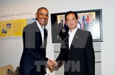 Nguyen Tan Dung y Obama se reúnen al margen de Cumbre ASEAN- EE.UU.