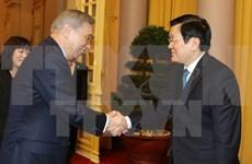 Presidente de Vietnam apoya cooperación con prefectura nipona