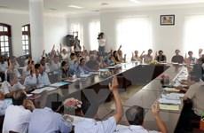 Efectúan primeras consultas para elegir a diputados de XIV legislatura