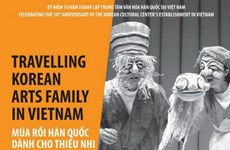 Arte de marionetas de Sudcorea ameniza a público vietnamita