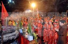 Fiestas ceremoniales en honor de dinastía Tran