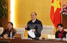 Concluye reunión 45 del Comité Permanente del Parlamento de Vietnam