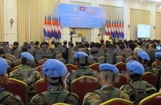 Camboya revisa una década de participación en misiones de ONU
