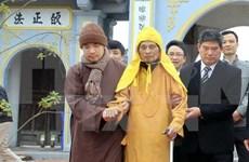Autoridades de Hanoi felicitan a dignatario budista en ocasión del Tet