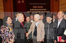 Líder partidista destaca elección democrática y responsable de diputados