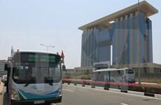 En servicios Binh Duong otras líneas de autobuses al estilo japonés