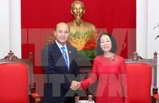 Trabajan Vietnam y Camboya por robustecer cooperación juvenil