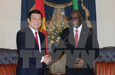 Concluye presidente de Vietnam visita a Tanzania
