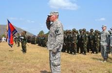 Camboya y Estados Unidos iniciaron ejercicio conjunto
