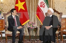 Vietnam e Irán acuerdan elevar comercio bilateral a dos mil millones de dólares