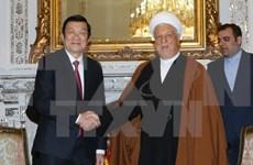 Presidente vietnamita sostuvo encuentros con dirigentes iraníes