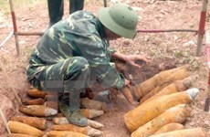 Vietnam crea grupo de contrapartes para aliviar secuelas de bombas y minas