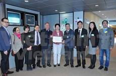 Vietnamitas en Europa expresan inquietud a PE sobre situación en Mar del Este