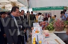 Productos de alta calidad de Vietnam matizan feria comercial en Cambodia
